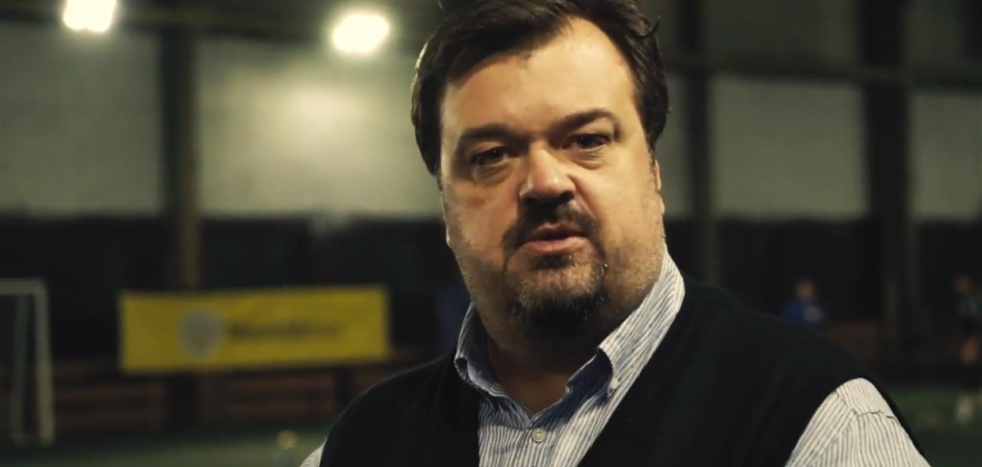 Скандальный московский комментатор умыл россиян, перейдя на мову