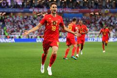 Бельгийцы одержали 'ненужную' победу над Англией в матче ЧМ-2018