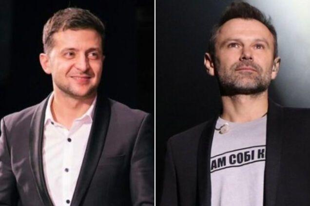 Владимир Зеленский и Святослав Вакарчук