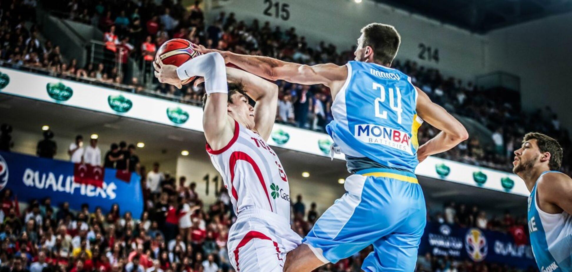 Збірна України з баскетболу програла в матчі відбору на КС-2019