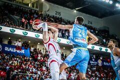 Сборная Украины по баскетболу проиграла в матче отбора на КМ-2019