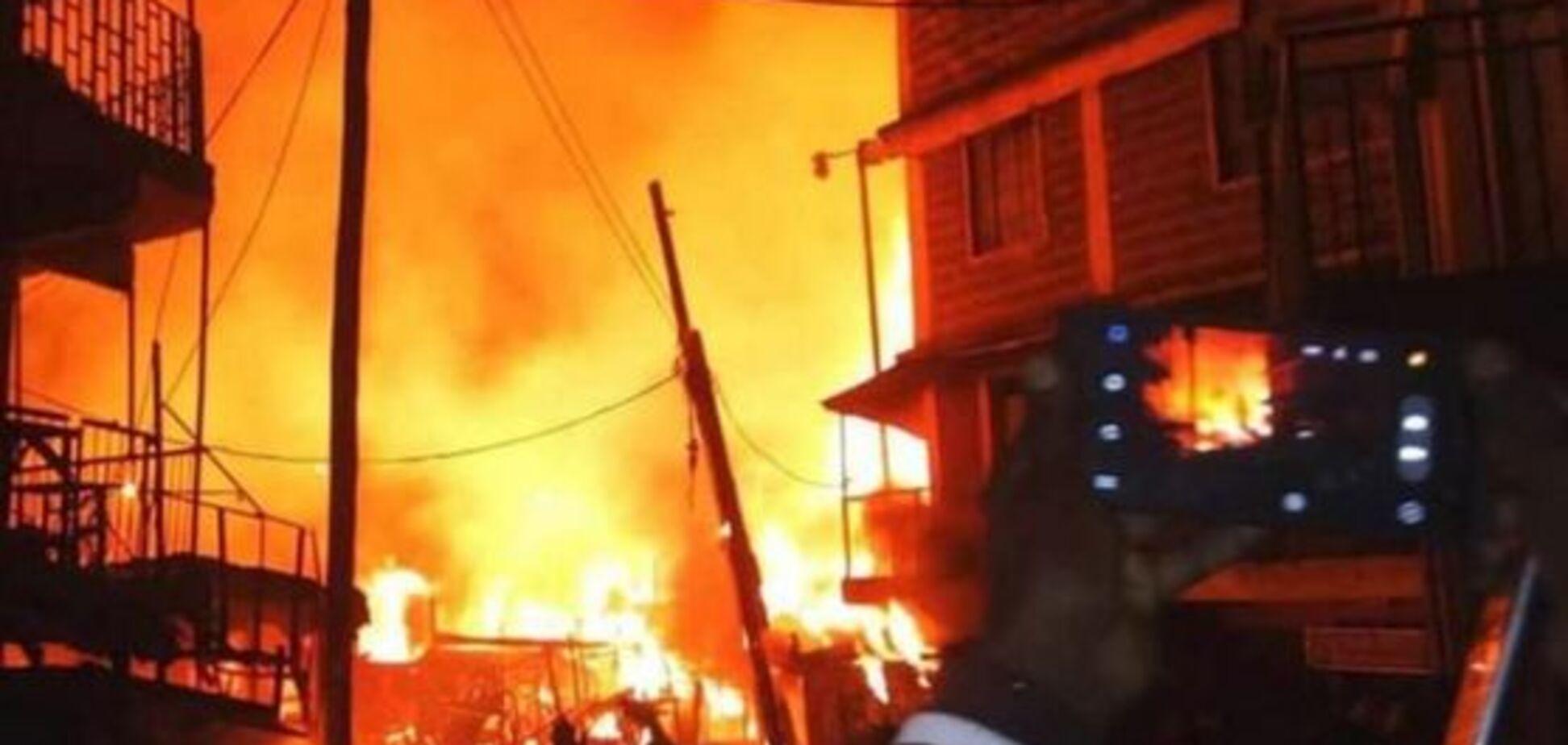 В Кении вспыхнул рынок: не менее 15 жертв
