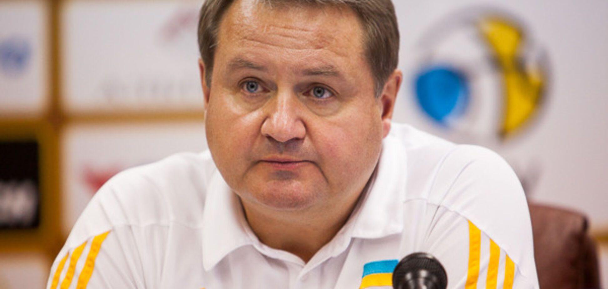 Мурзін пояснив поразку збірної України з баскетболу