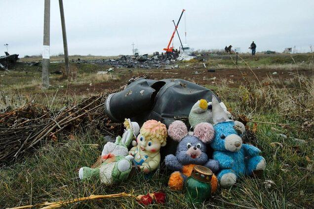Місце катастрофи MH17