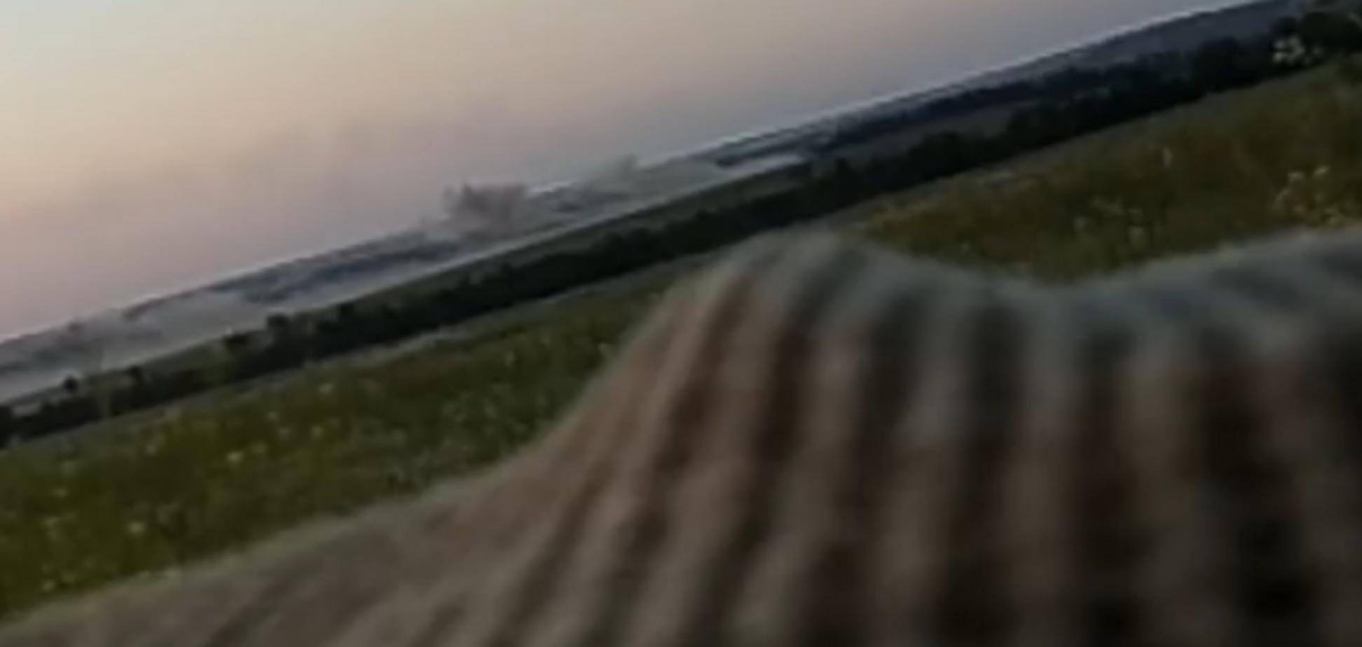 'Димлять чуби сеп*рські': потужна відповідь ООС терористам на Донбасі потрапила на відео