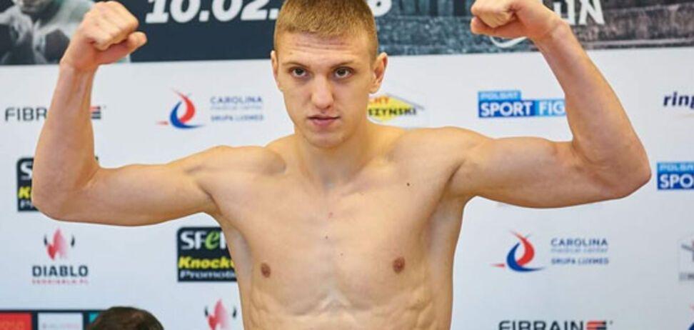 Непобедимый украинский боксер добыл победу нокаутом