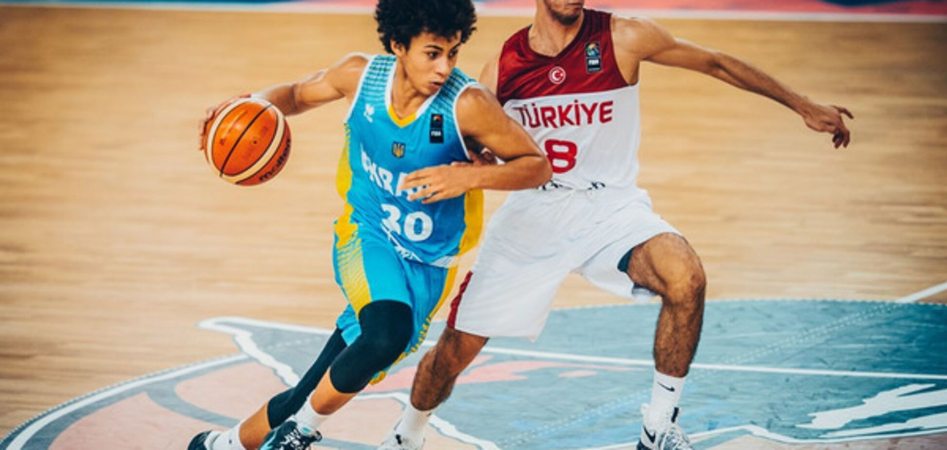 Баскетболіст збірної України викликав фурор в США