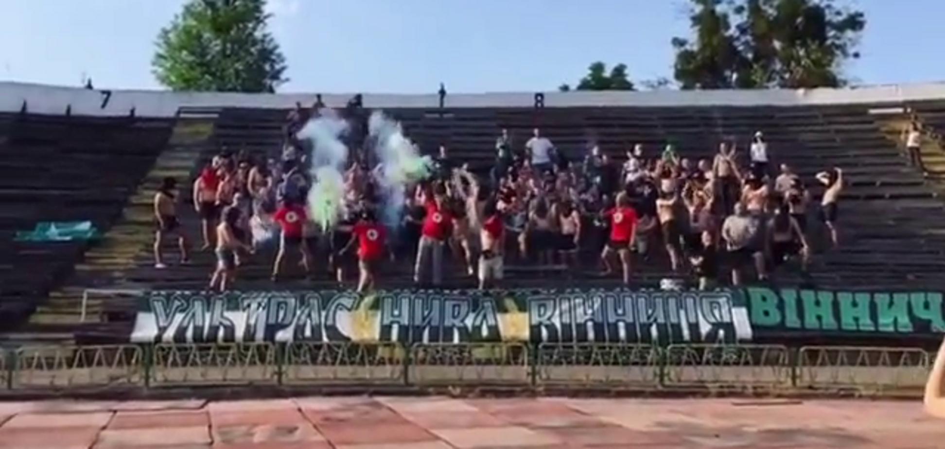 Украинские фанаты совершили гнусный поступок на матче