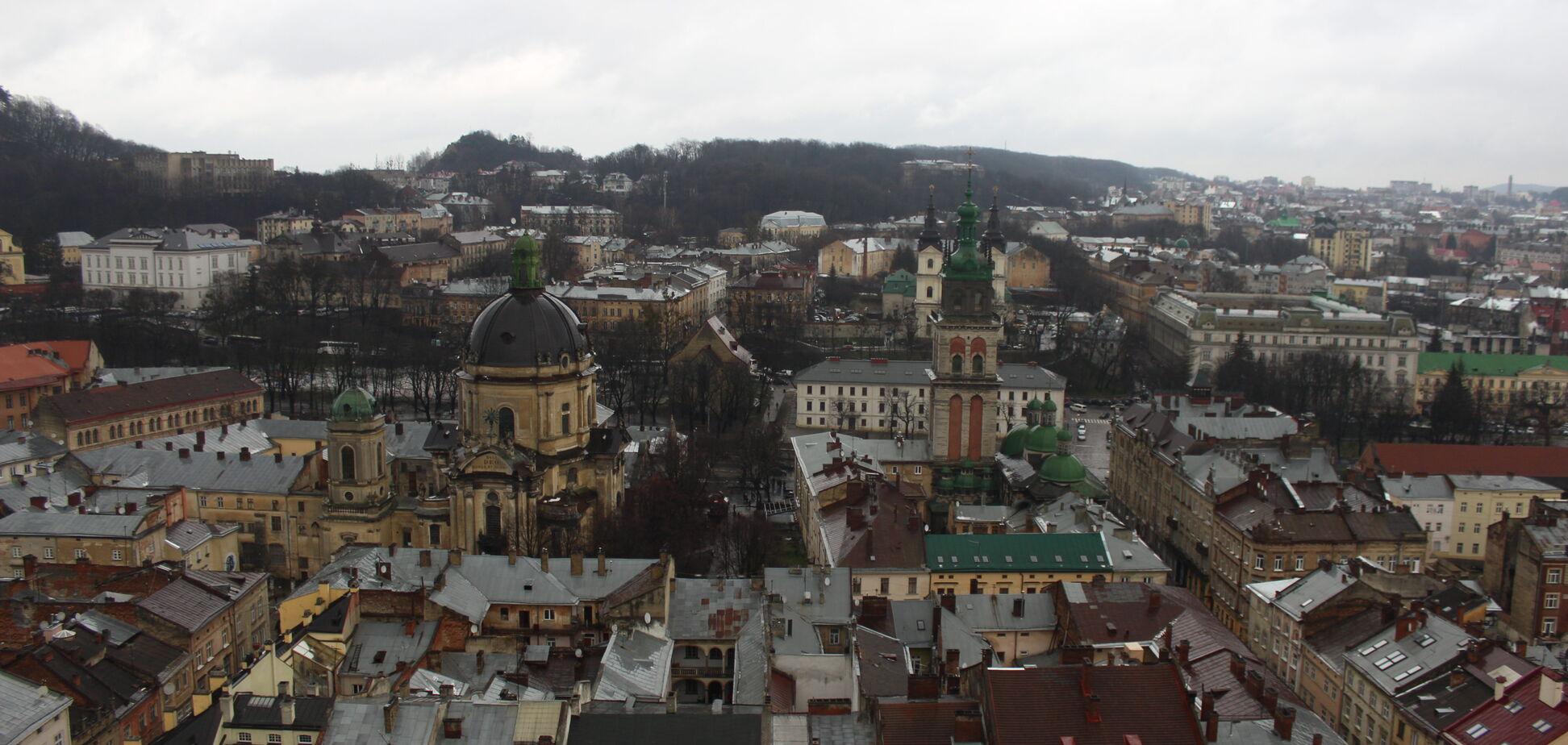 Львов претендует на звание 'столицы' Европы