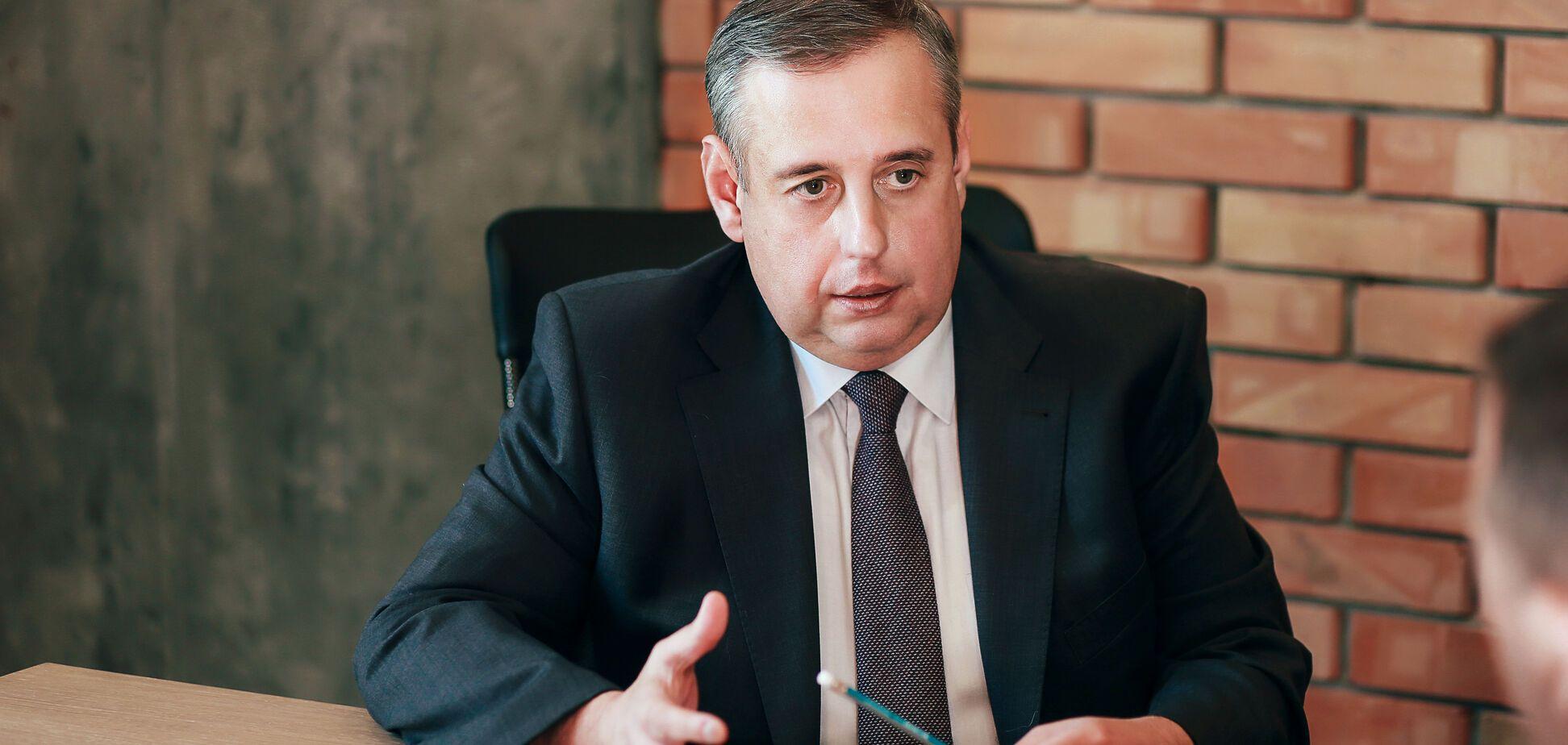 Вице-президент Конфедерации строителей Украины Дмитрий Исаенко