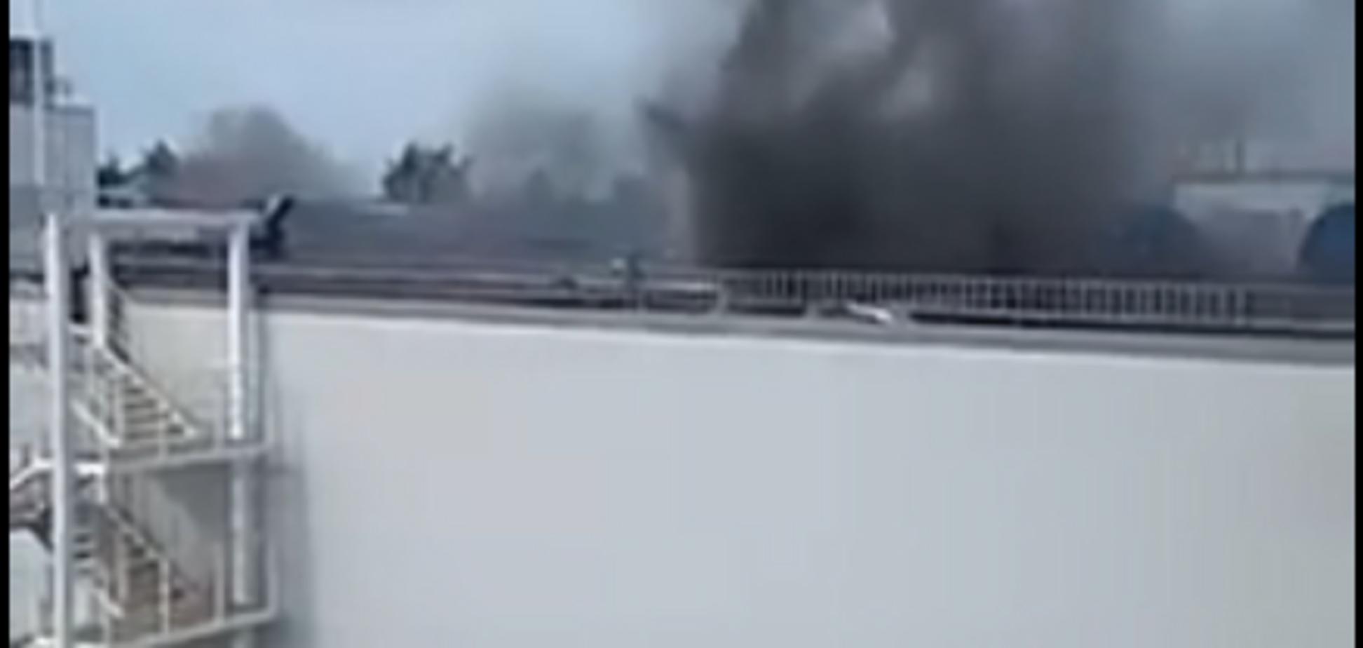 В Росії знову сталася пожежа у великому ТЦ: фото, відео
