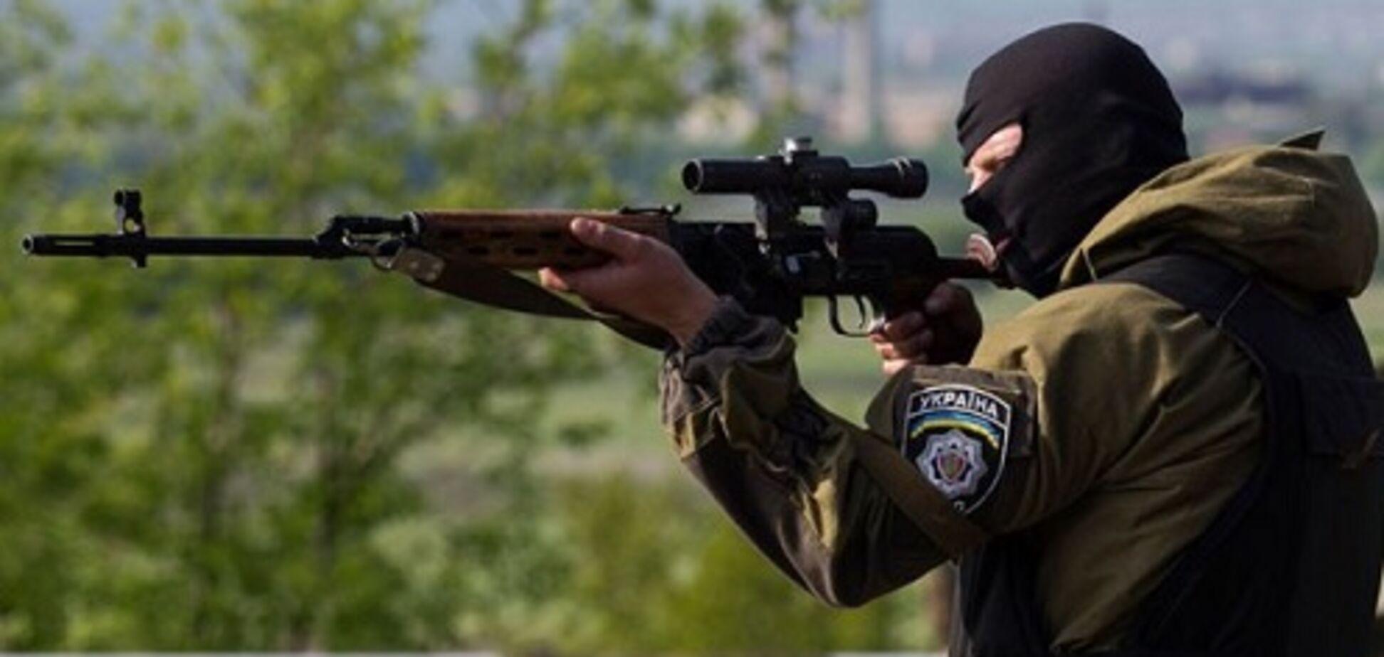Снайпер ОС ліквідував командира 'ЛНР'