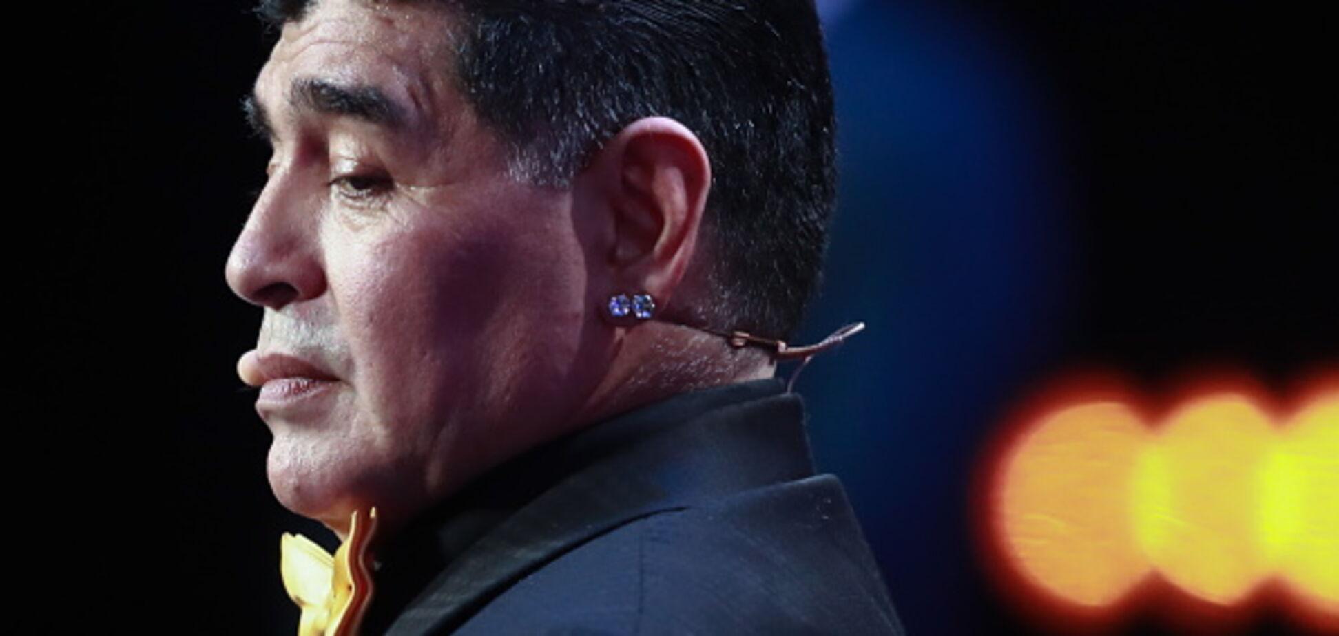 Легендарний Марадона госпіталізований: названа причина