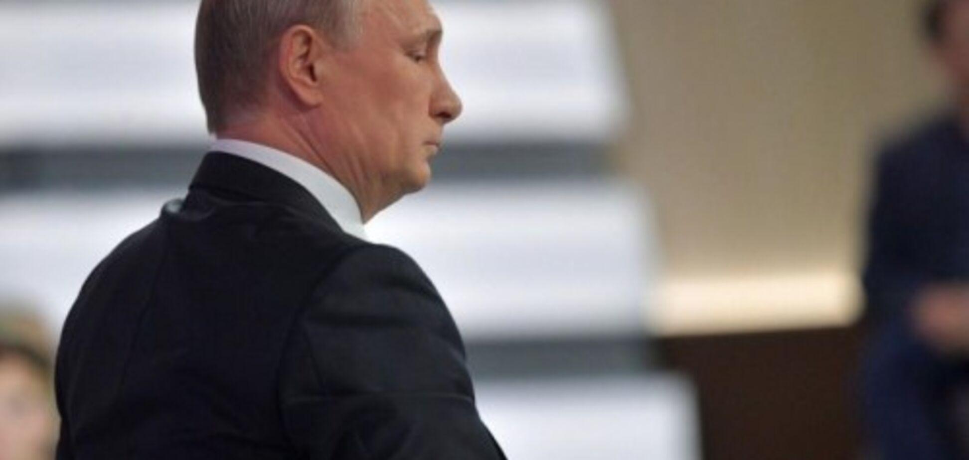 Путин уже не может скрыть свою ложь