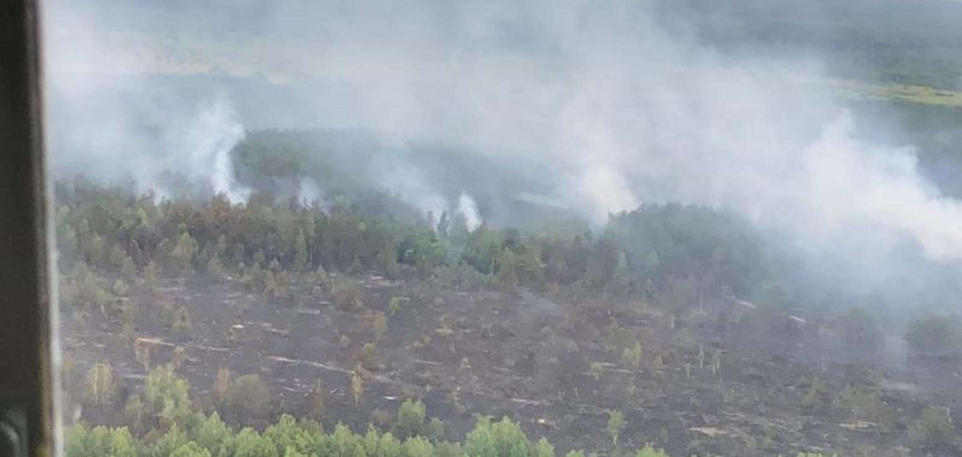 Пожежа в Чорнобилі: що відбувається у зоні відчуження