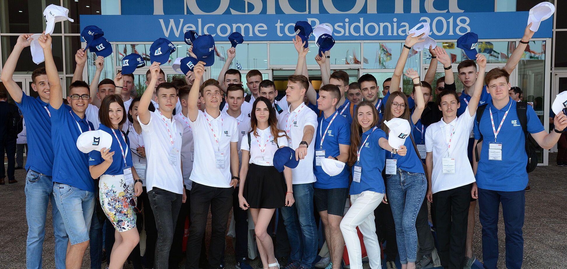 Кращі студенти України відвідали відому виставку морської справи в Греції