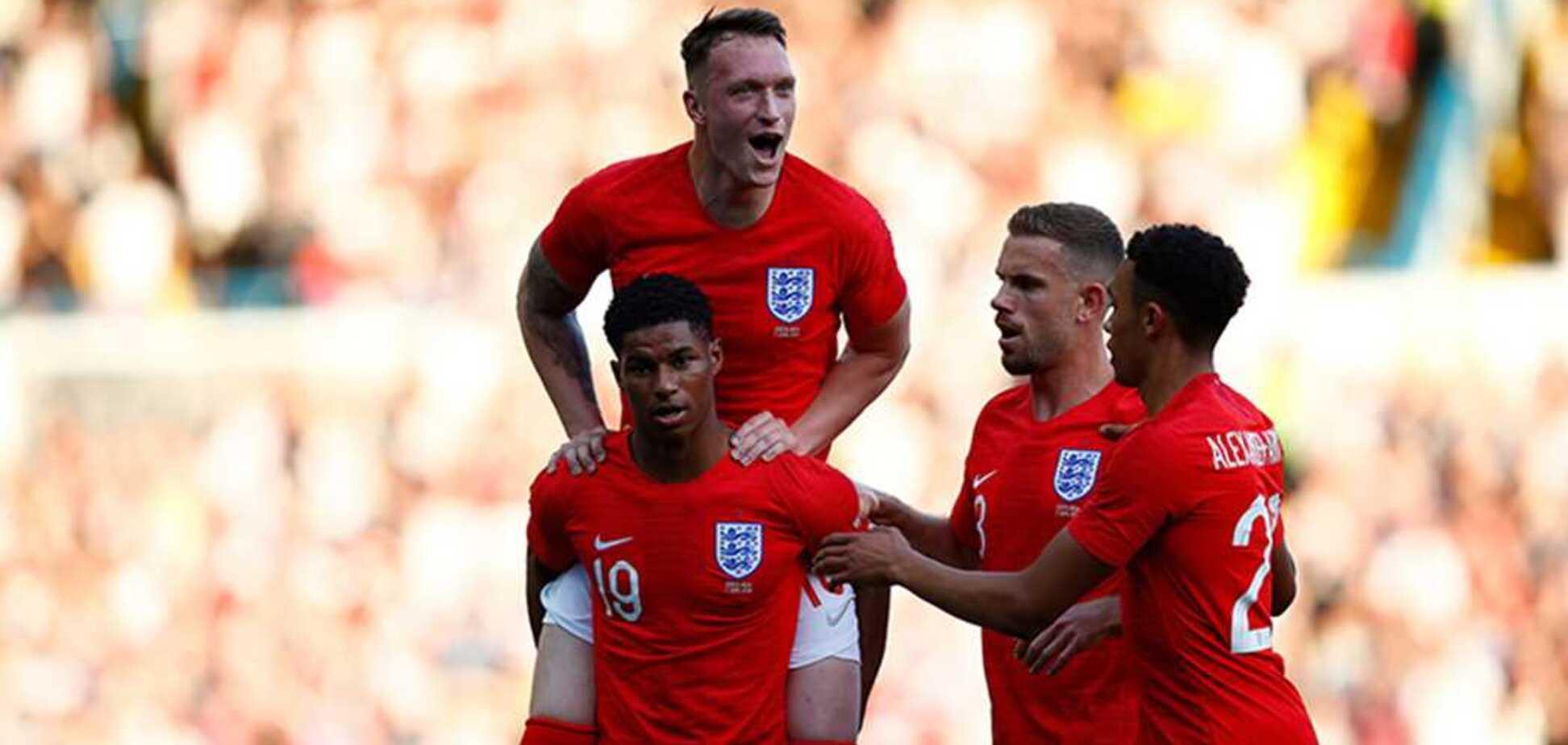 Это невозможно! Англия выиграла спарринг перед ЧМ-2018, положив два нереальных гола: видеофакт