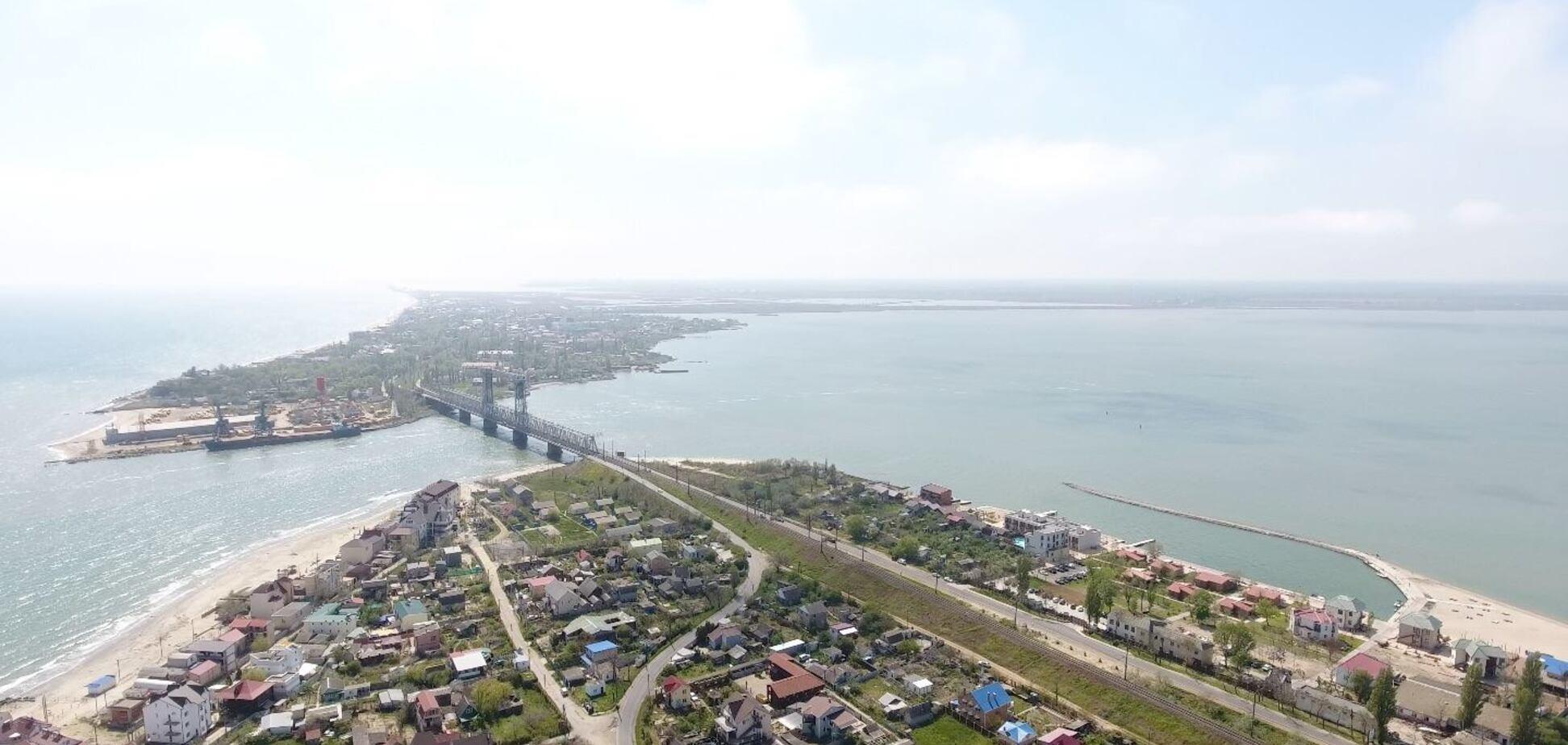 Затока з висоти: опубліковані приголомшливі фото