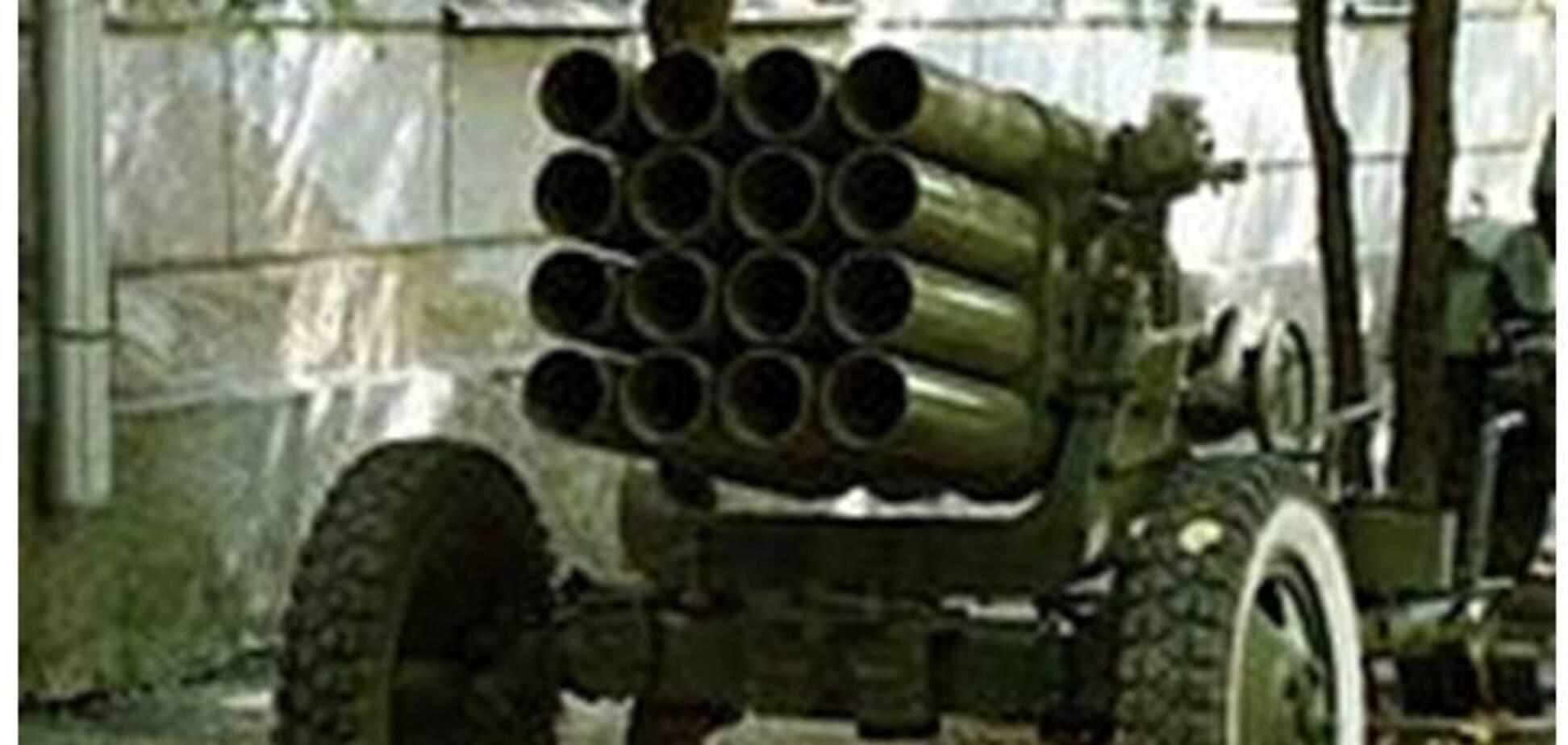 РСЗВ 'Чєбурашка' в 'ДНР', або Як Росія утилізує боєприпаси на українській землі