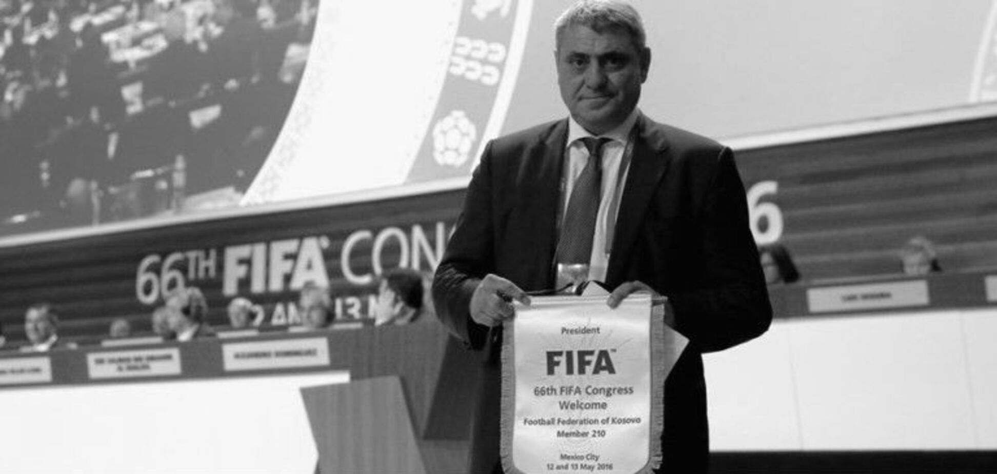 У Косово помер президент Федерації футболу: названа причина