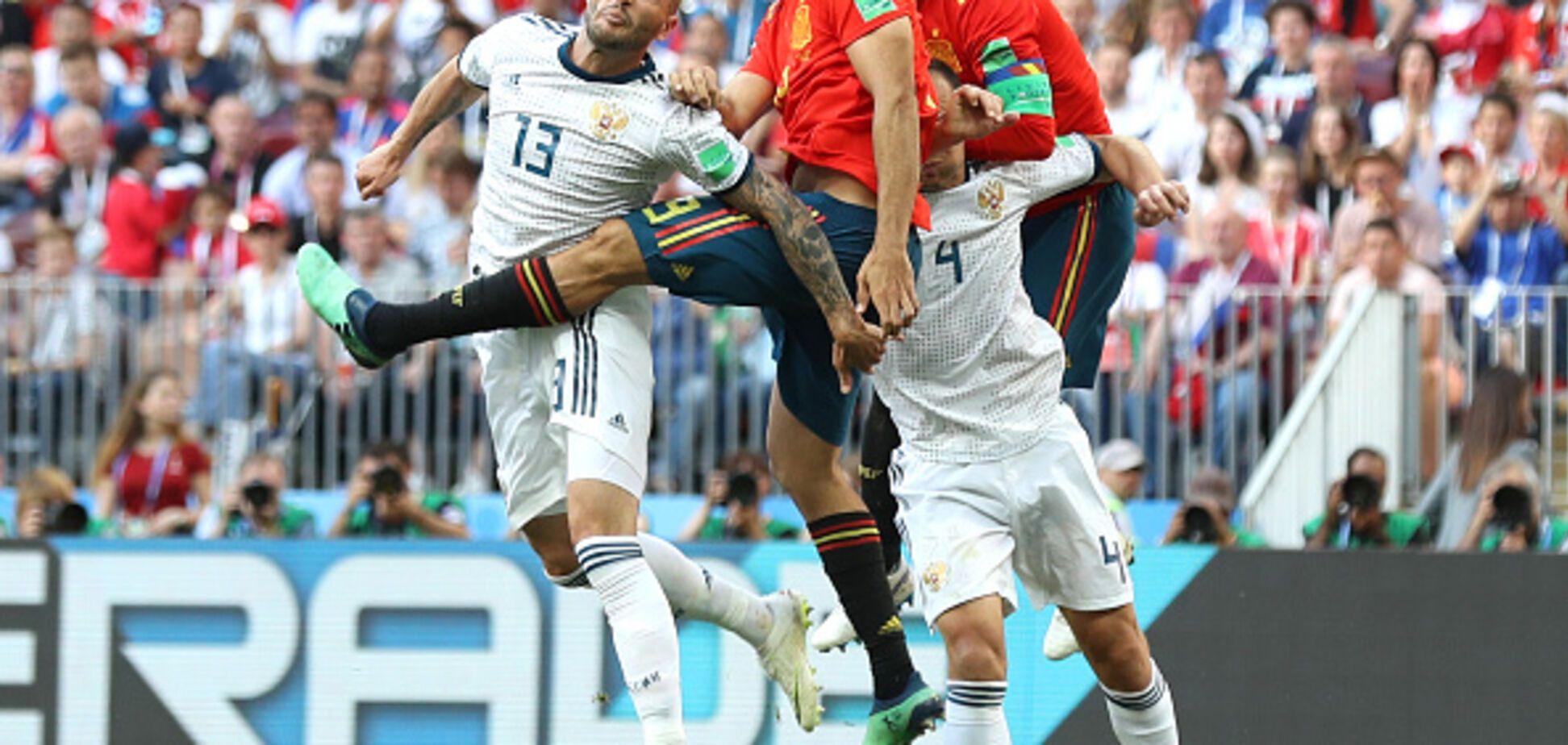 Испания установила впечатляющий рекорд в матче с Россией на ЧМ-2018