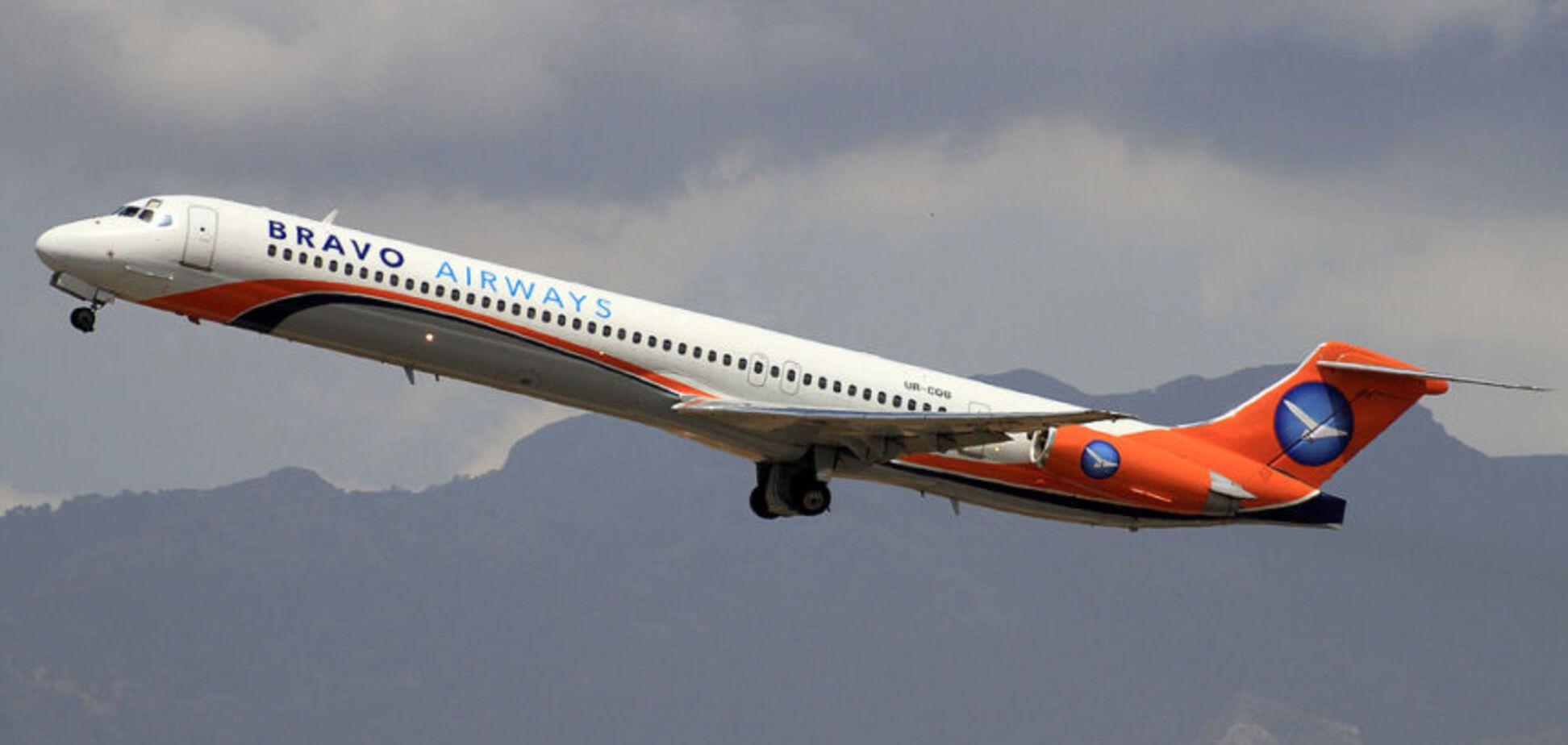 Скандал с Bravo Airways: появилось видео аварийной посадки в аэропорту 'Киев'
