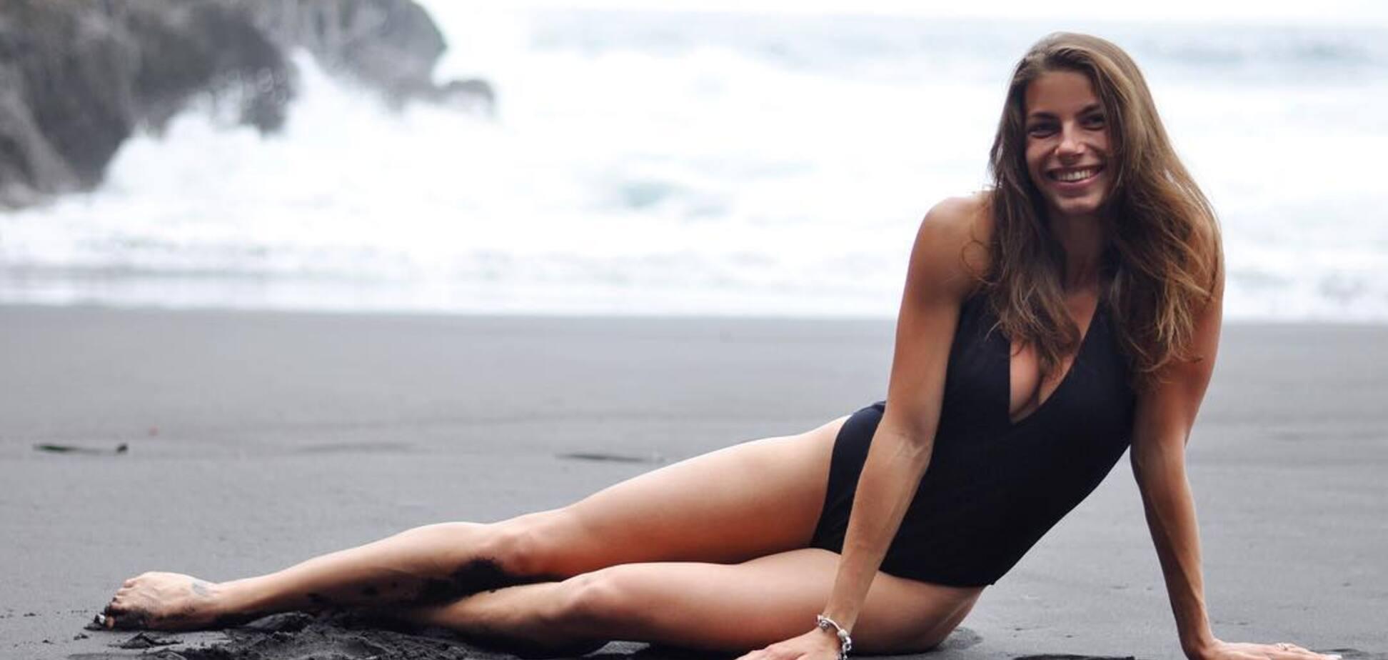 Красивейшая легкоатлетка Украины вызвала фурор фантастической фигурой