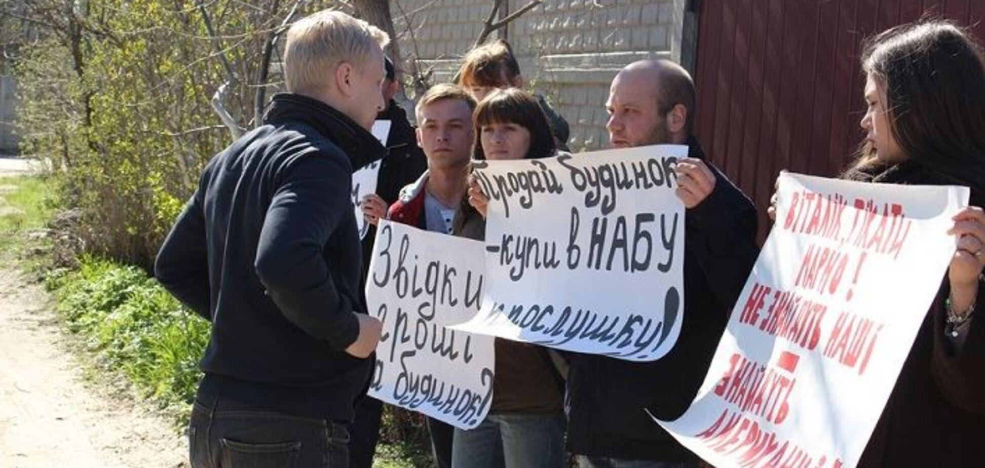 Коррупционер-миллионер Шабунин получил команду 'фас' на Холодницкого