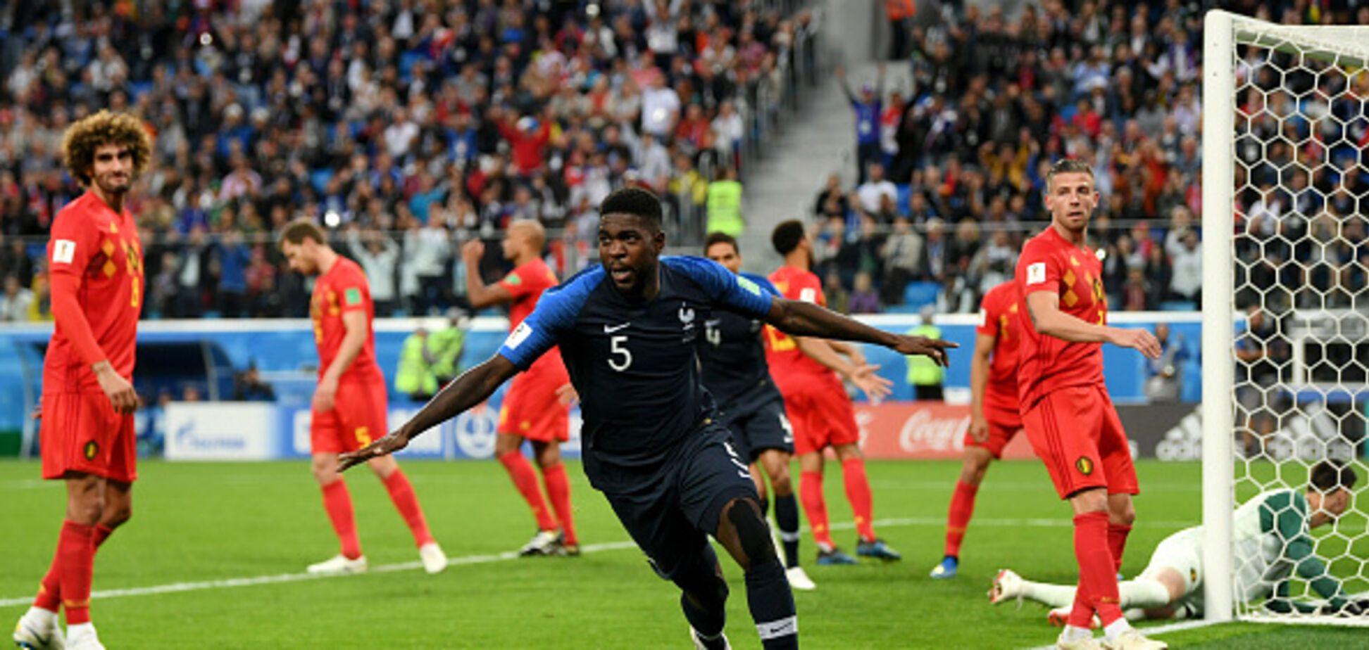 Франция - Бельгия: обзор полуфинала ЧМ-2018