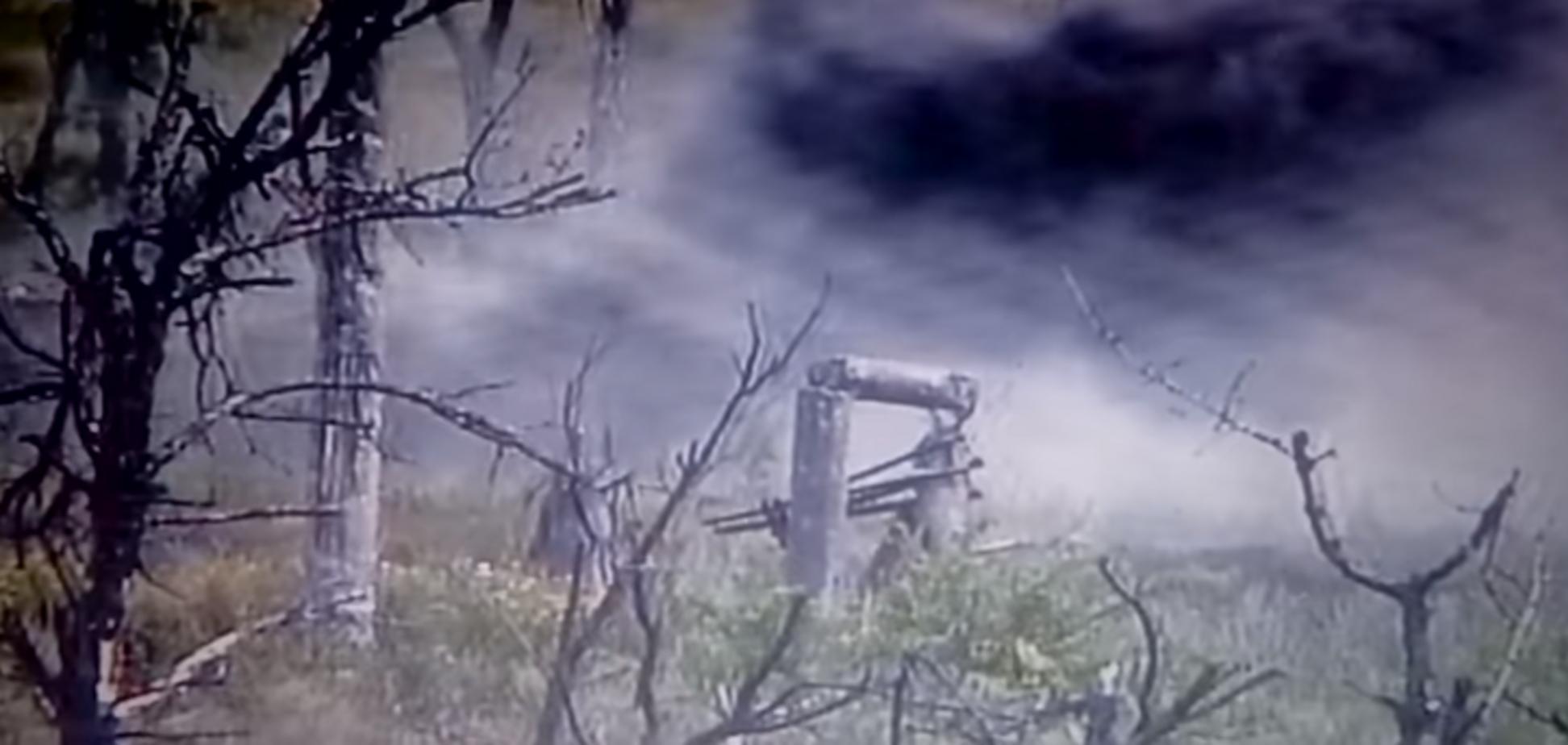 ВСУ взорвали позицию 'Л/ДНР': появилось видео уничтожения