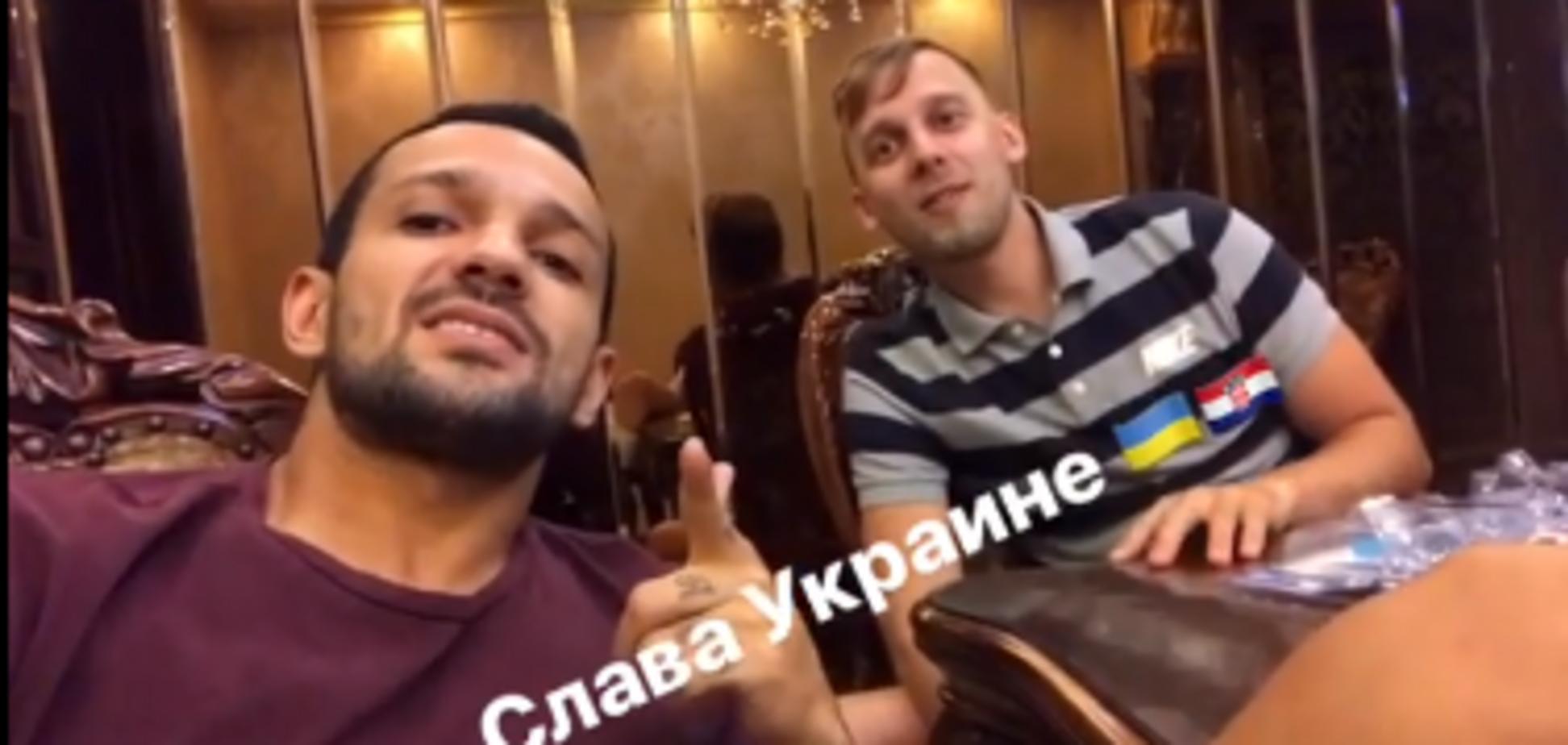 'Слава Україні!' Відомий бразильський футболіст зняв відео на підтримку Вiди і Вукоєвича