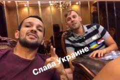 'Слава Украине!' Известный бразильский футболист снял видео в поддержку Виды и Вукоевича