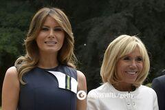 Битва образів: Меланія Трамп і Бріджит Макрон на саміті НАТО