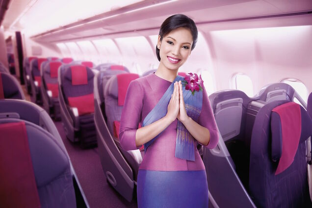 Стюардеса Thai airways
