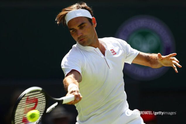 Роджер Федерер програв на Вімблдоні
