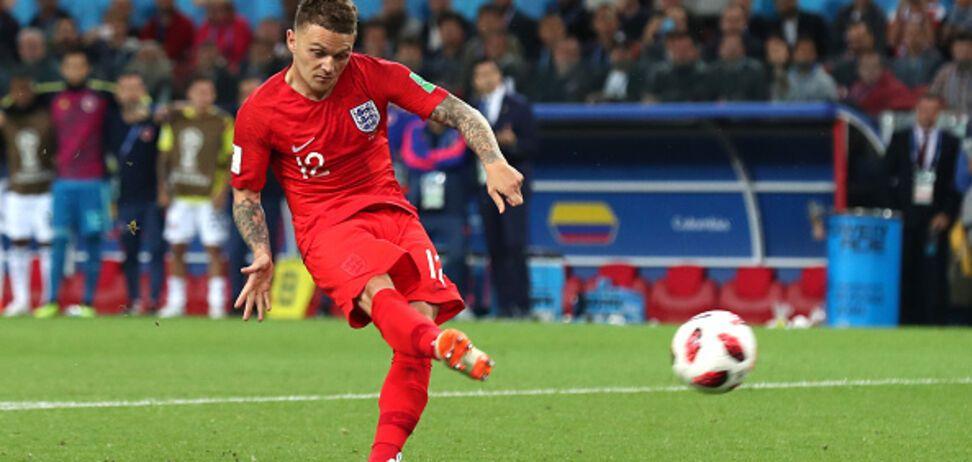 ЧМ-2018: футболист сборной Англии забил гол-шедевр хорватам - опубликовано видео