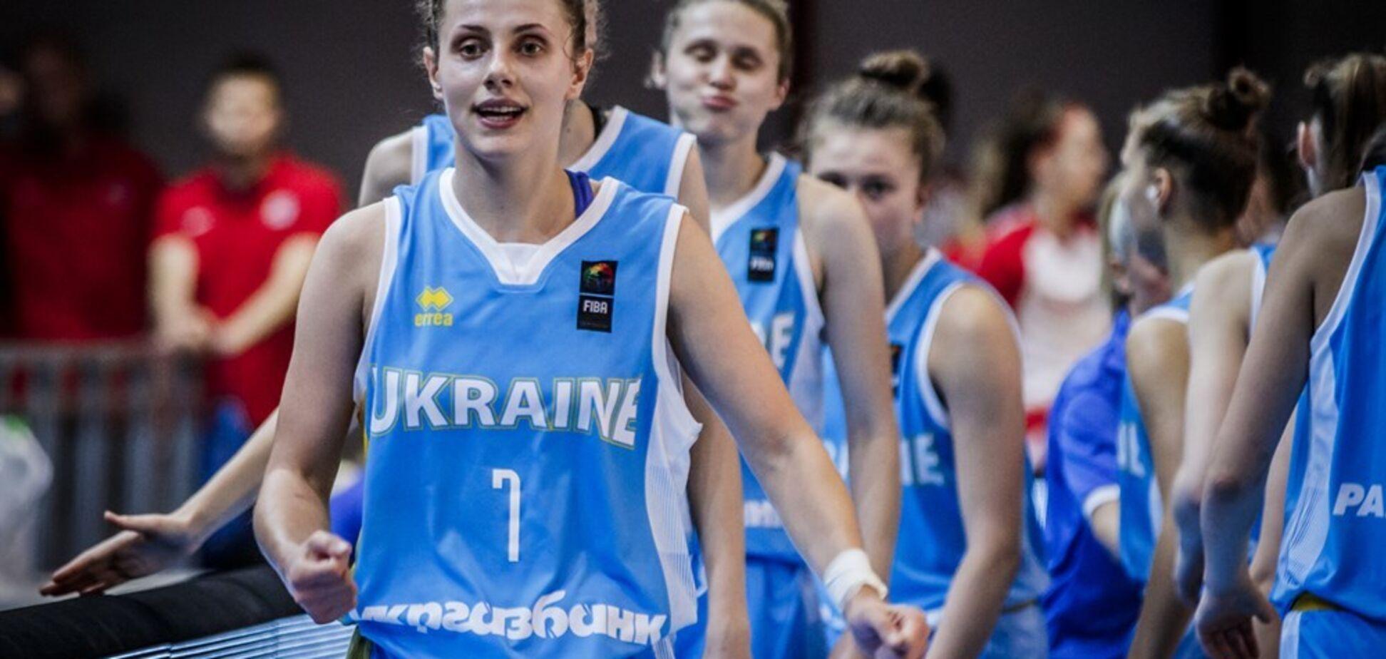 Українки здобули ефектну перемогу на Євробаскеті U-20