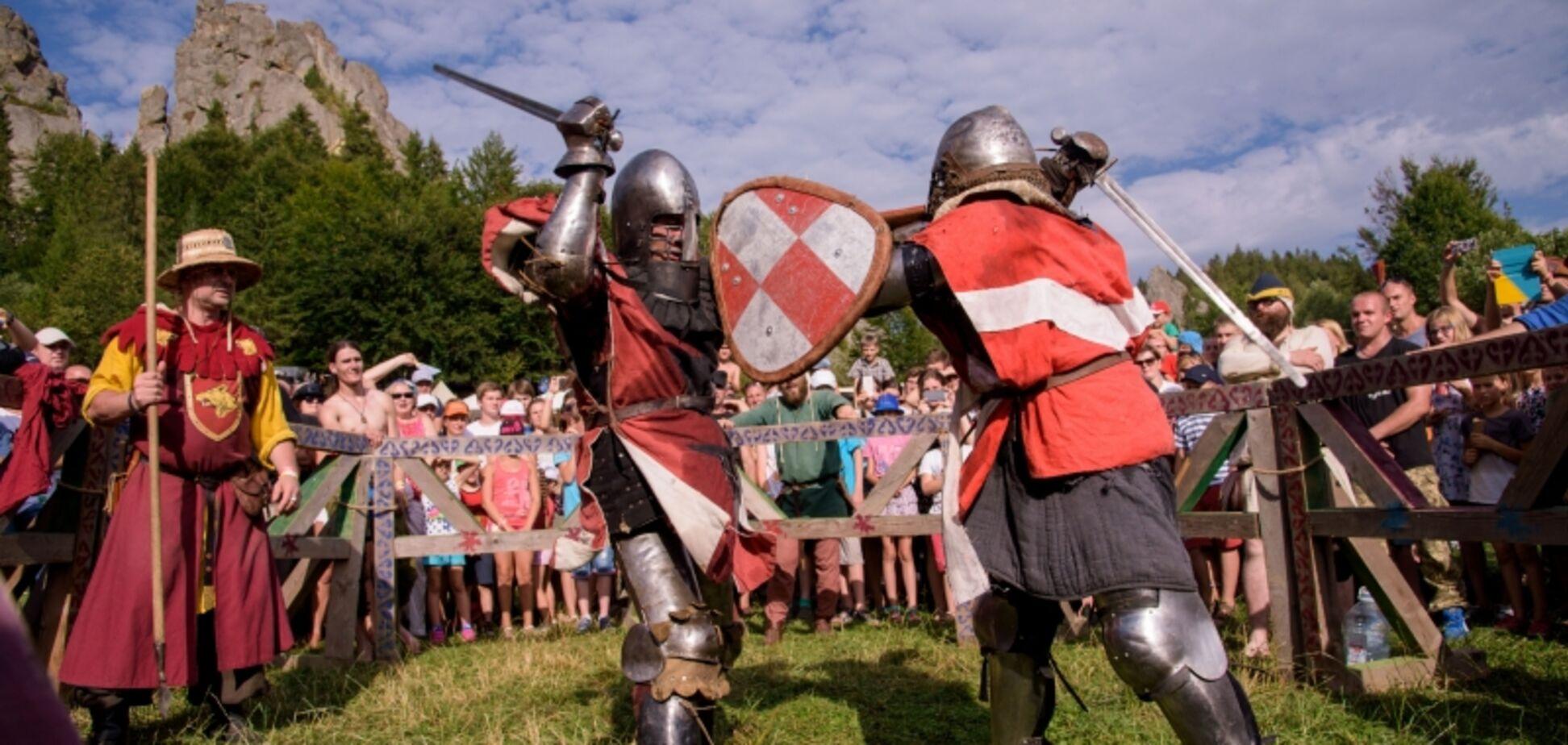 Рыцари, луки и штурм крепости: Львовщина погрузится в Средневековье