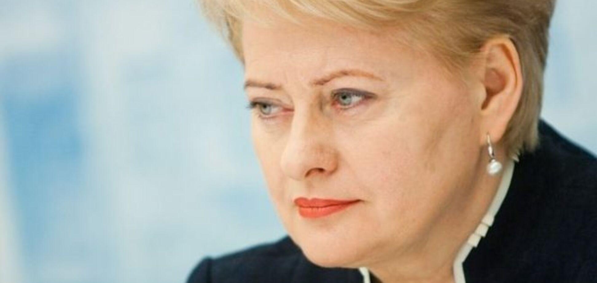 'Мы никого не боимся': президент Литвы ярко поставила на место пропагандистов Кремля