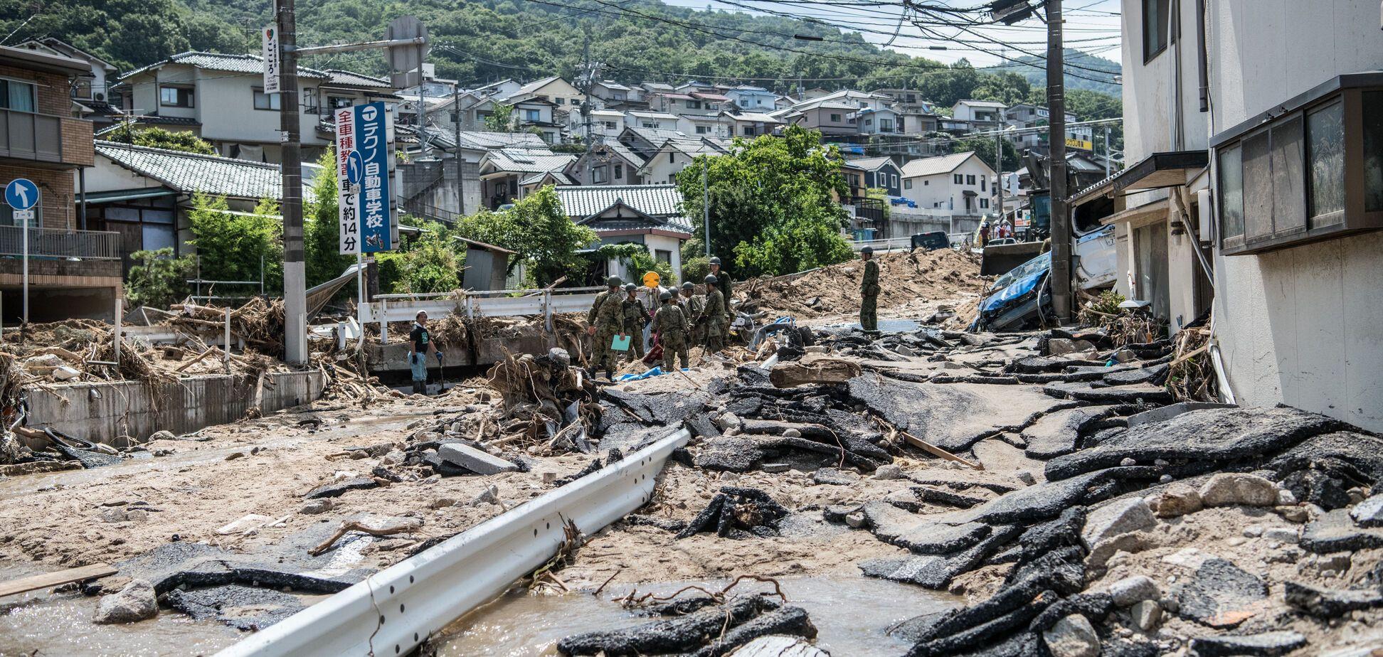 Японію накрила потужна повінь: кількість жертв сягнула 200 осіб