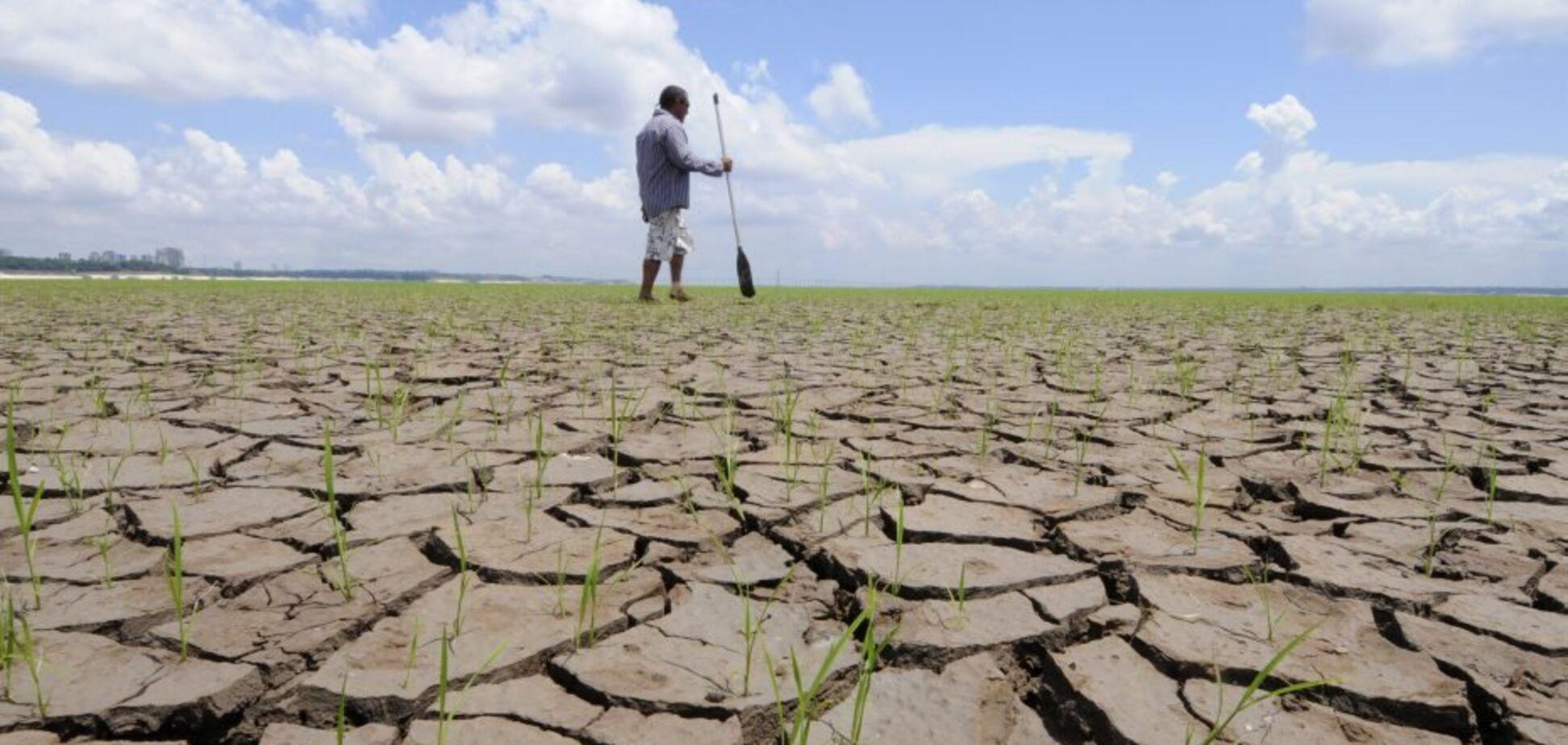 Українці висловилися про 'посухи' в Криму