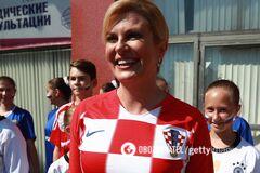 Самая сексуальная: как президент Хорватии покорила футбольный мир на ЧМ-2018 - опубликованы яркие фото