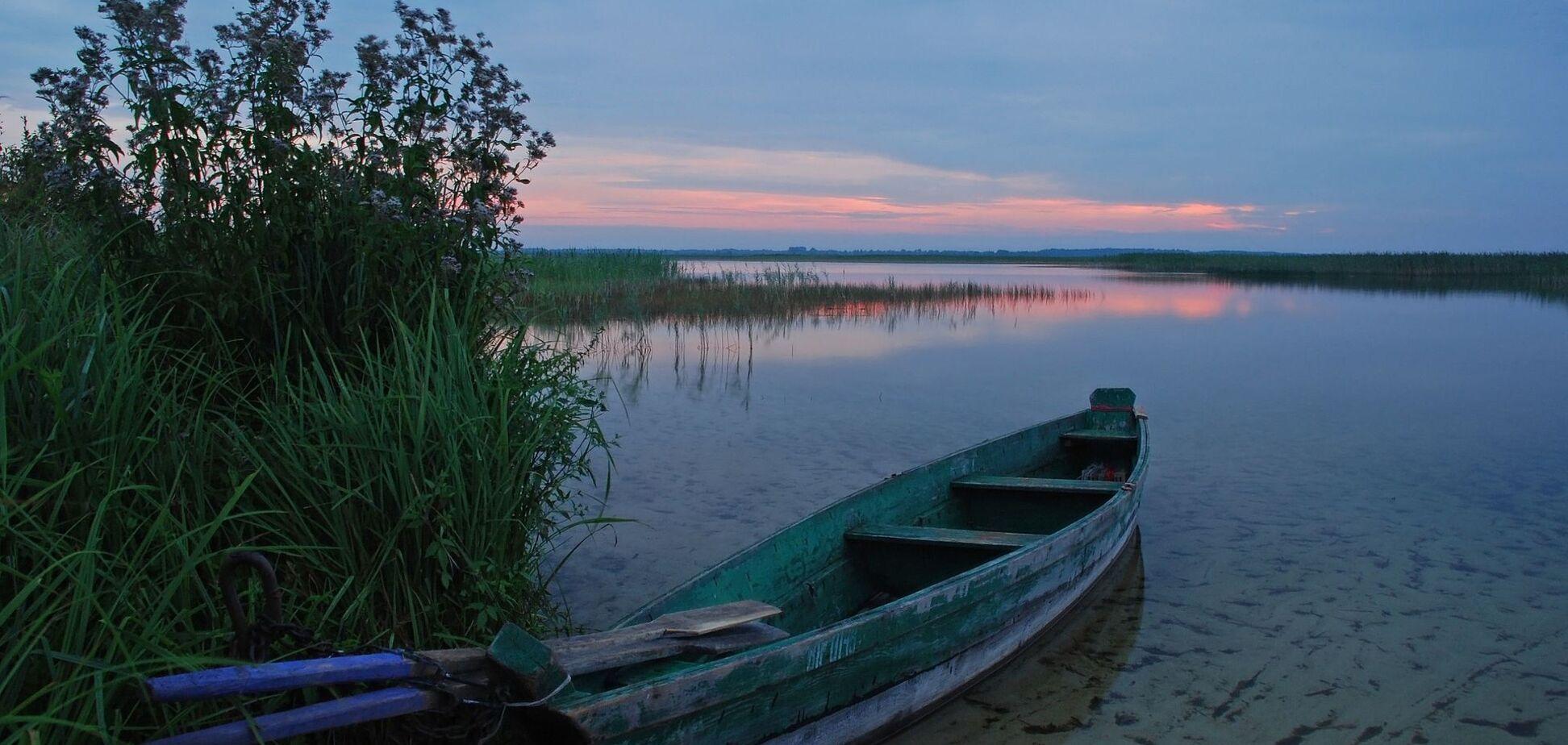 Шацькі озера з висоти: з'явилося неймовірне відео