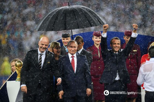 Путін зганьбився на фіналі ЧС-2018
