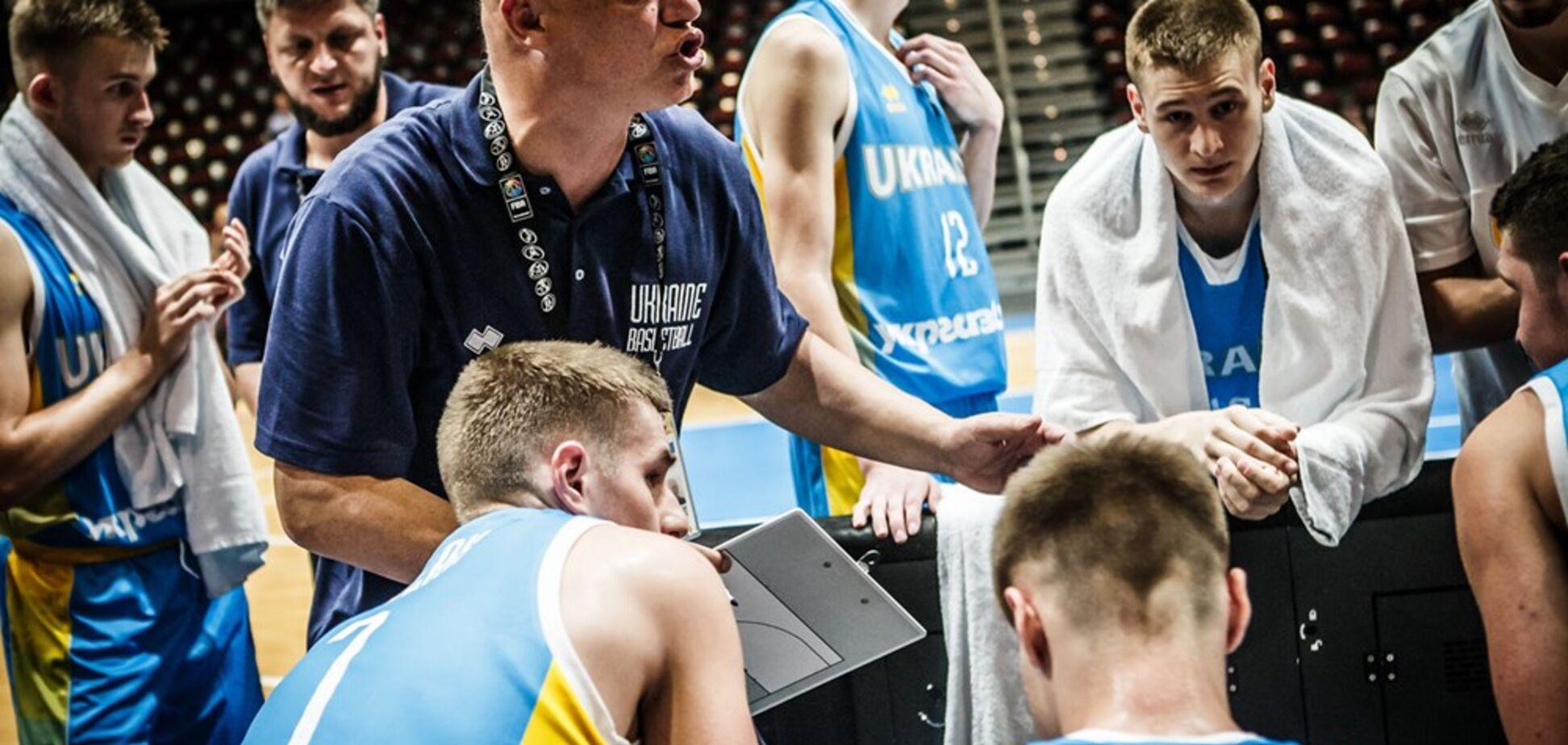 Збірна України поступилася в 2-му турі Євробаскету U-20