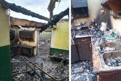 На Закарпатье сгорел детский сад: фото и подробности трагедии