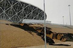 В России стадион ЧМ-2018 за 16 млрд смыло дождем: опубликовано видео