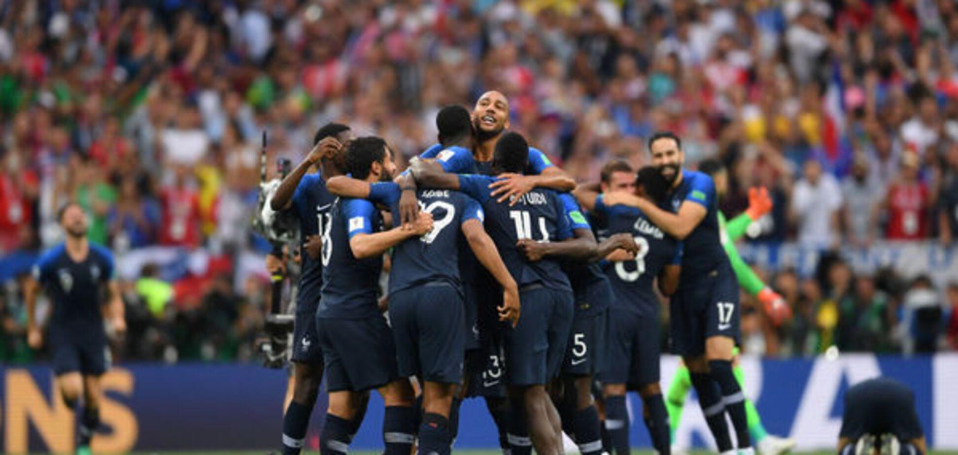 Французы чемпионы, а хорваты выиграли сердца и уважение