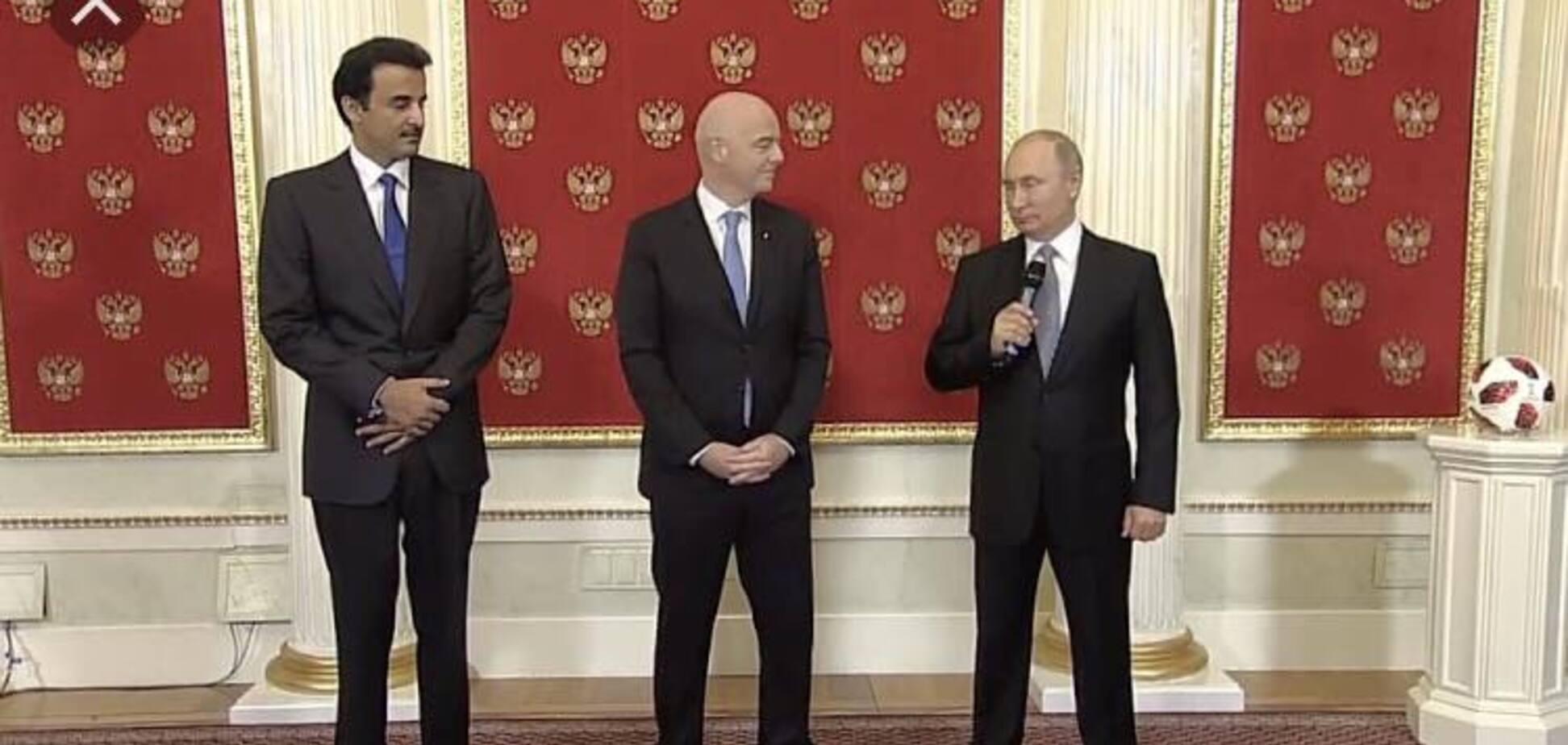 Лесенка дураков на ЧМ-2018