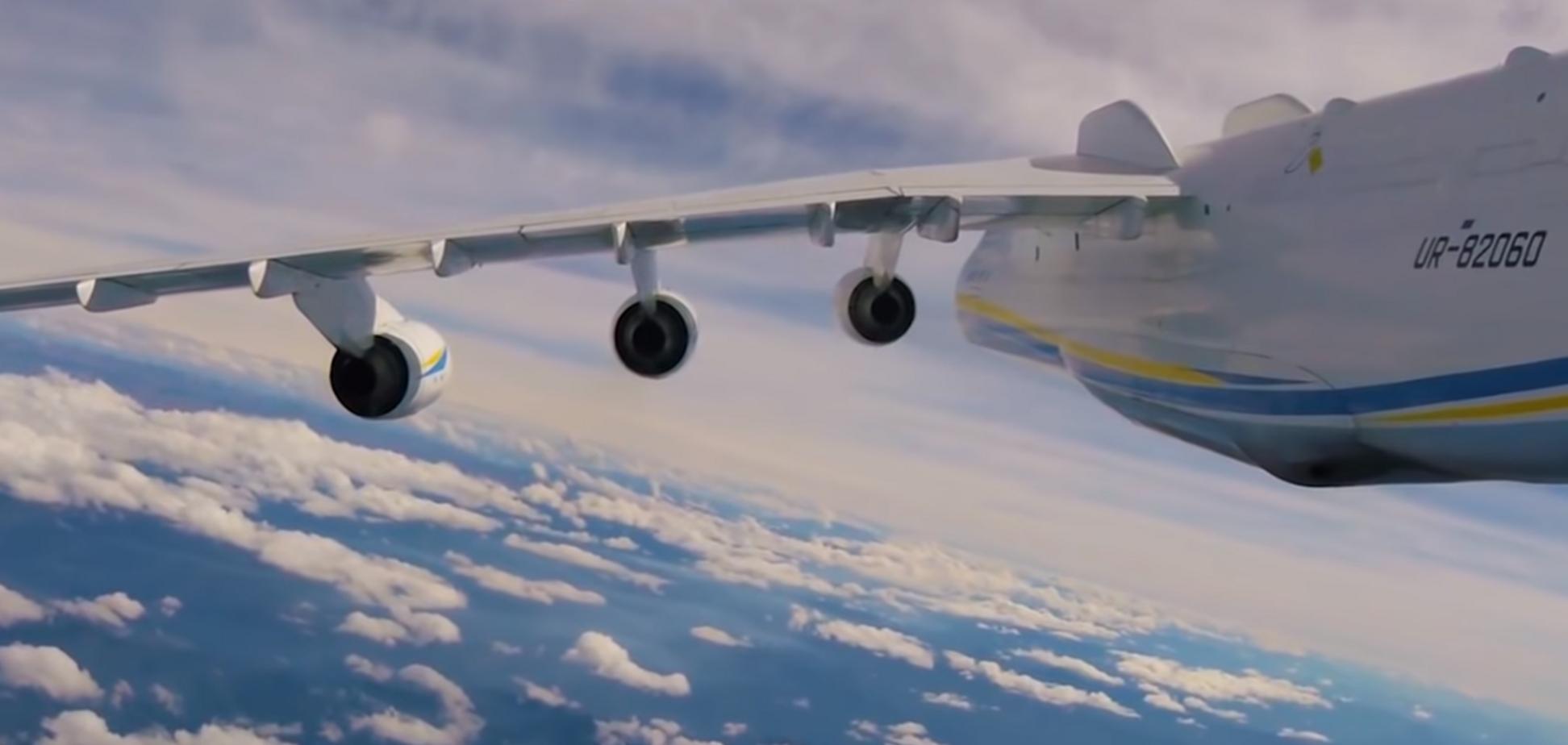 Взлет самого большого самолета в мире сняли с необычного ракурса: невероятные кадры